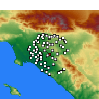 Nearby Forecast Locations - Placentia - Χάρτης