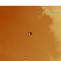Nearby Forecast Locations - Plainview - Χάρτης
