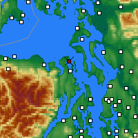 Nearby Forecast Locations - Port - Χάρτης