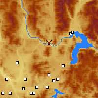 Nearby Forecast Locations - Priest River - Χάρτης