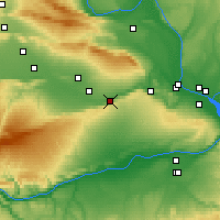 Nearby Forecast Locations - Prosser - Χάρτης