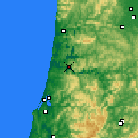 Nearby Forecast Locations - Reedsport - Χάρτης
