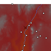 Nearby Forecast Locations - Rio Rancho - Χάρτης