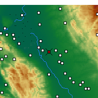 Nearby Forecast Locations - Ripon - Χάρτης