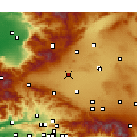 Nearby Forecast Locations - Rosamond - Χάρτης