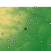 Nearby Forecast Locations - San Marcos - Χάρτης