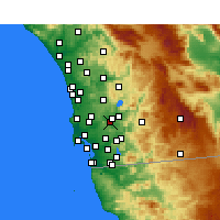 Nearby Forecast Locations - Santee - ������