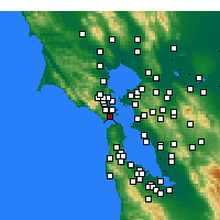 Nearby Forecast Locations - Sausalito - ������