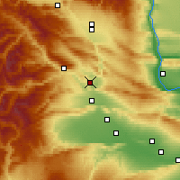 Nearby Forecast Locations - Selah - Χάρτης