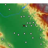 Nearby Forecast Locations - Selma - Χάρτης