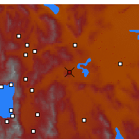 Nearby Forecast Locations - Silver Springs - Χάρτης