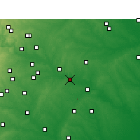 Nearby Forecast Locations - Smithville - Χάρτης