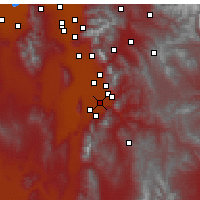 Nearby Forecast Locations - Spanish Fork - Χάρτης