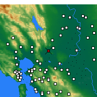 Nearby Forecast Locations - Suisun - Χάρτης