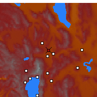 Nearby Forecast Locations - Sun Valley - Χάρτης