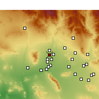 Nearby Forecast Locations - Surprise - Χάρτης