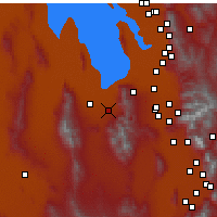 Nearby Forecast Locations - Tooele - Χάρτης