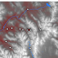 Nearby Forecast Locations - Vail - Χάρτης