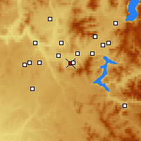Nearby Forecast Locations - Veradale - Χάρτης