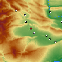 Nearby Forecast Locations - Wapato - Χάρτης