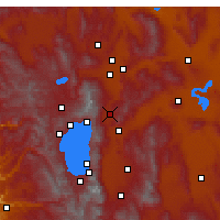 Nearby Forecast Locations - Washoe Valley - Χάρτης