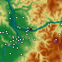 Nearby Forecast Locations - Washougal - Χάρτης