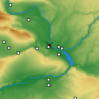 Nearby Forecast Locations - West Richland - Χάρτης