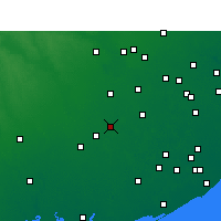 Nearby Forecast Locations - Wharton - Χάρτης