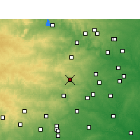 Nearby Forecast Locations - Wimberley - Χάρτης