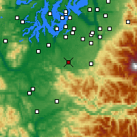 Nearby Forecast Locations - Yelm - Χάρτης